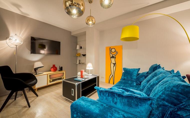 Фото № 68810 гостиная  Квартира