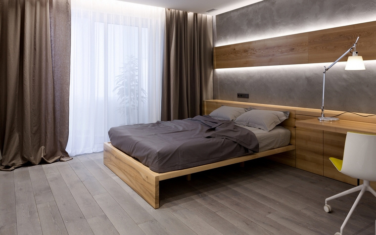 интерьер спальни - фото № 68848