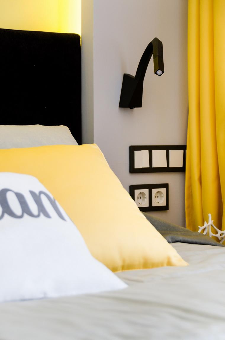 Квартира. спальня из проекта , фото №68983