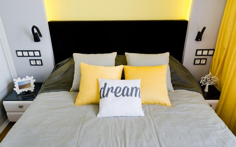 Квартира. спальня из проекта , фото №68985