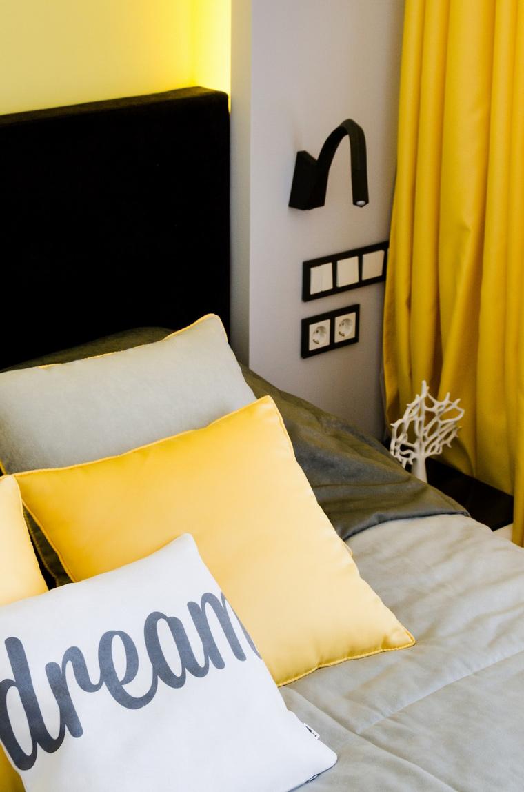Квартира. спальня из проекта , фото №68986