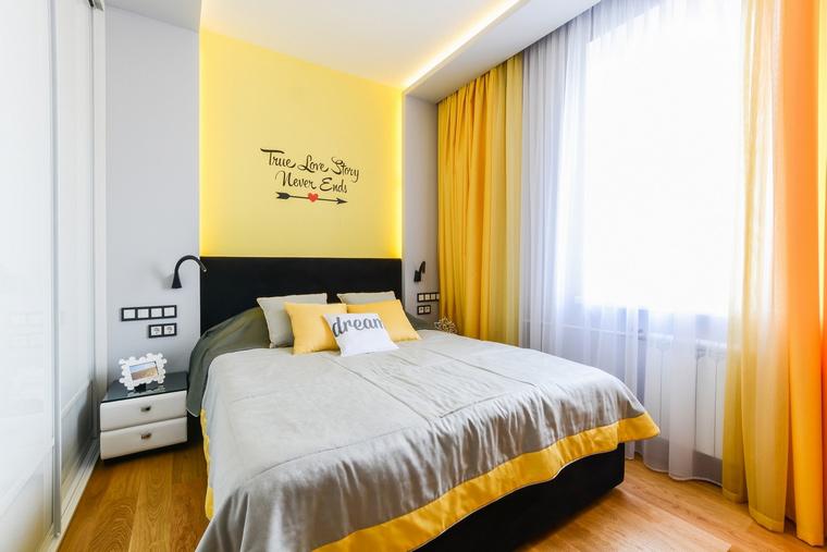 Квартира. спальня из проекта , фото №68987