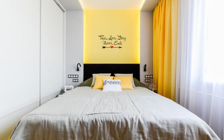 Квартира. спальня из проекта , фото №68988