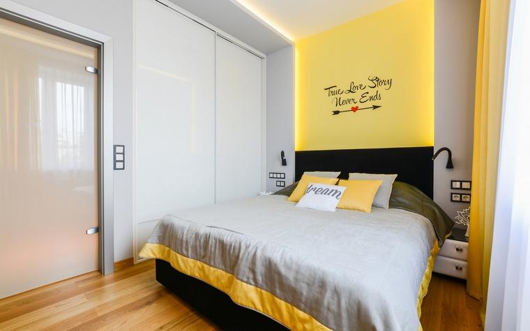 Квартира. спальня из проекта , фото №68989