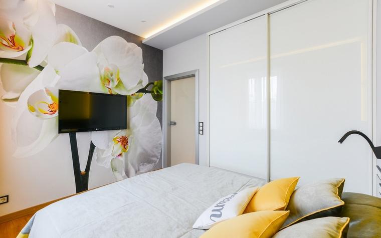 Квартира. спальня из проекта , фото №68991