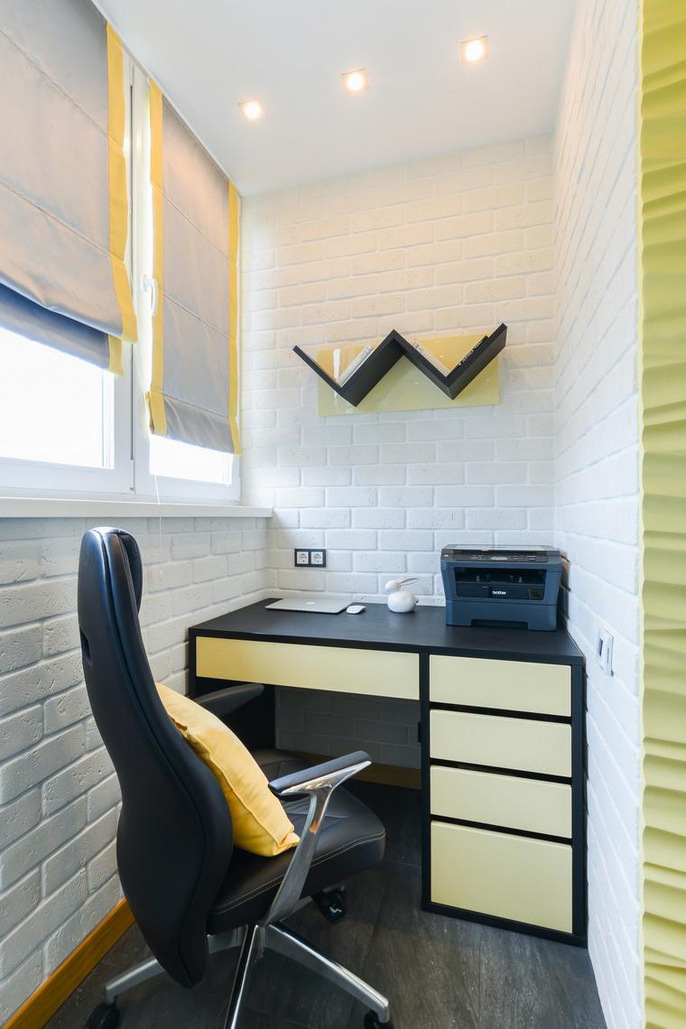 Квартира. кабинет из проекта , фото №69002