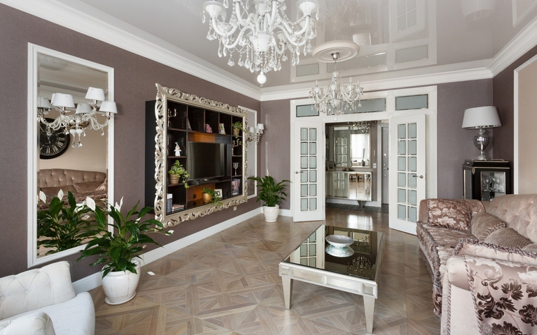 интерьер гостиной - фото № 69031
