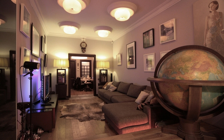 интерьер гостиной - фото № 69072