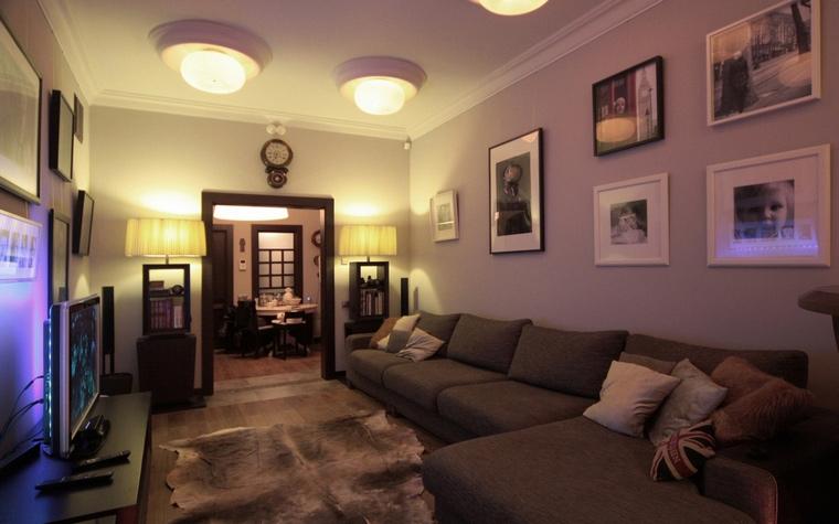 Фото № 69073 гостиная  Квартира