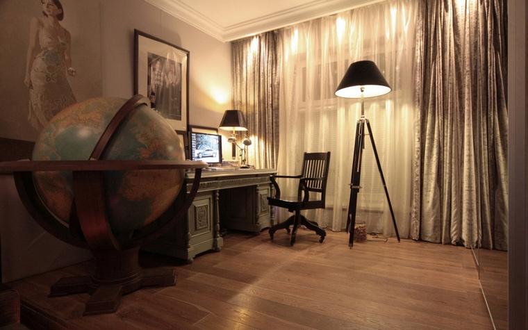 Фото № 69074 гостиная  Квартира