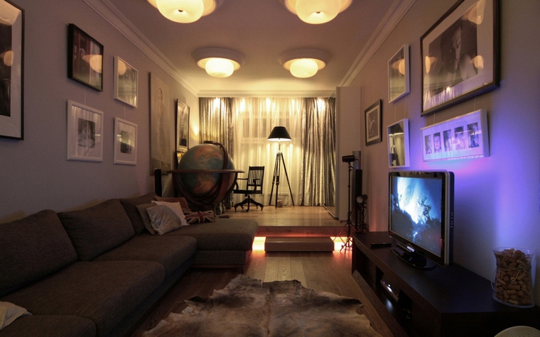 интерьер гостиной - фото № 69069