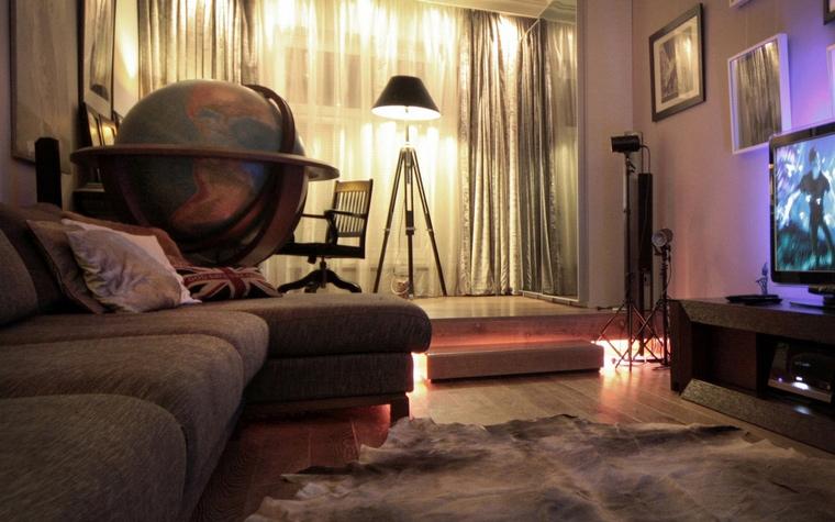 Фото № 69070 гостиная  Квартира
