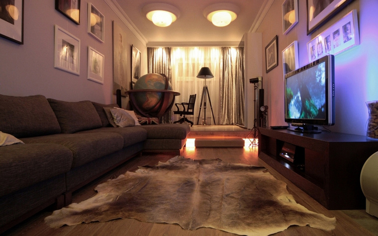 интерьер гостиной - фото № 69071