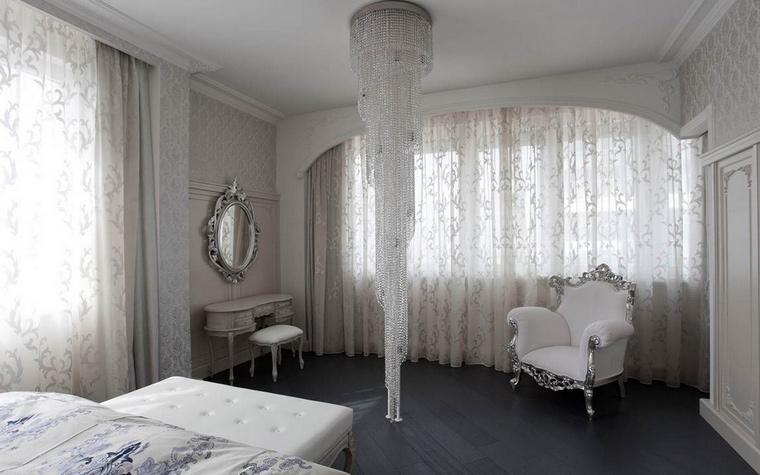 Квартира. спальня из проекта , фото №69083