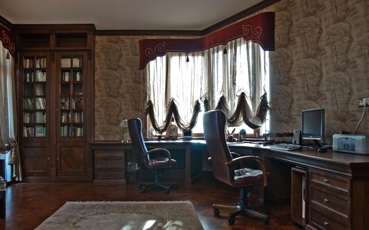 Фото № 69089 кабинет библиотека  Квартира