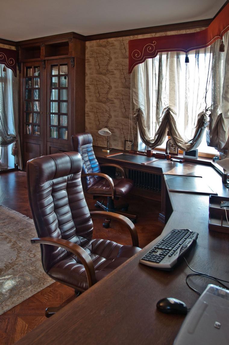Фото № 69088 кабинет библиотека  Квартира