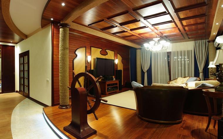 интерьер гостиной - фото № 69096