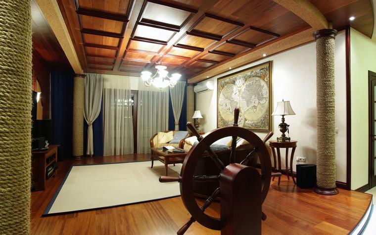 интерьер гостиной - фото № 69098