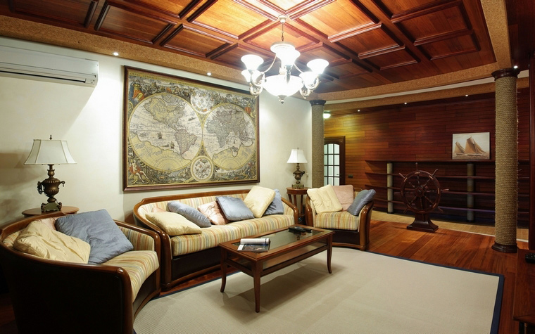 интерьер гостиной - фото № 69095
