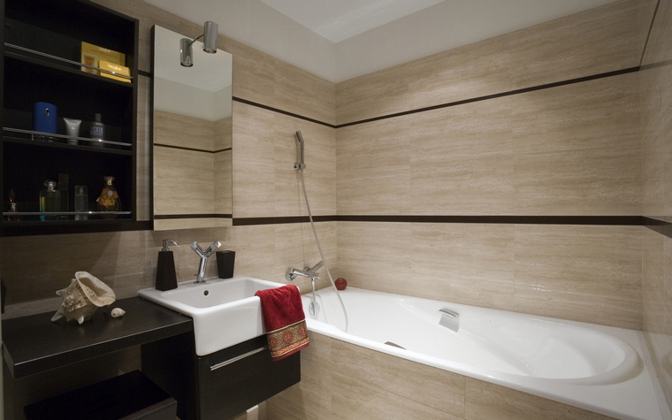 Фото № 69136 ванная  Квартира