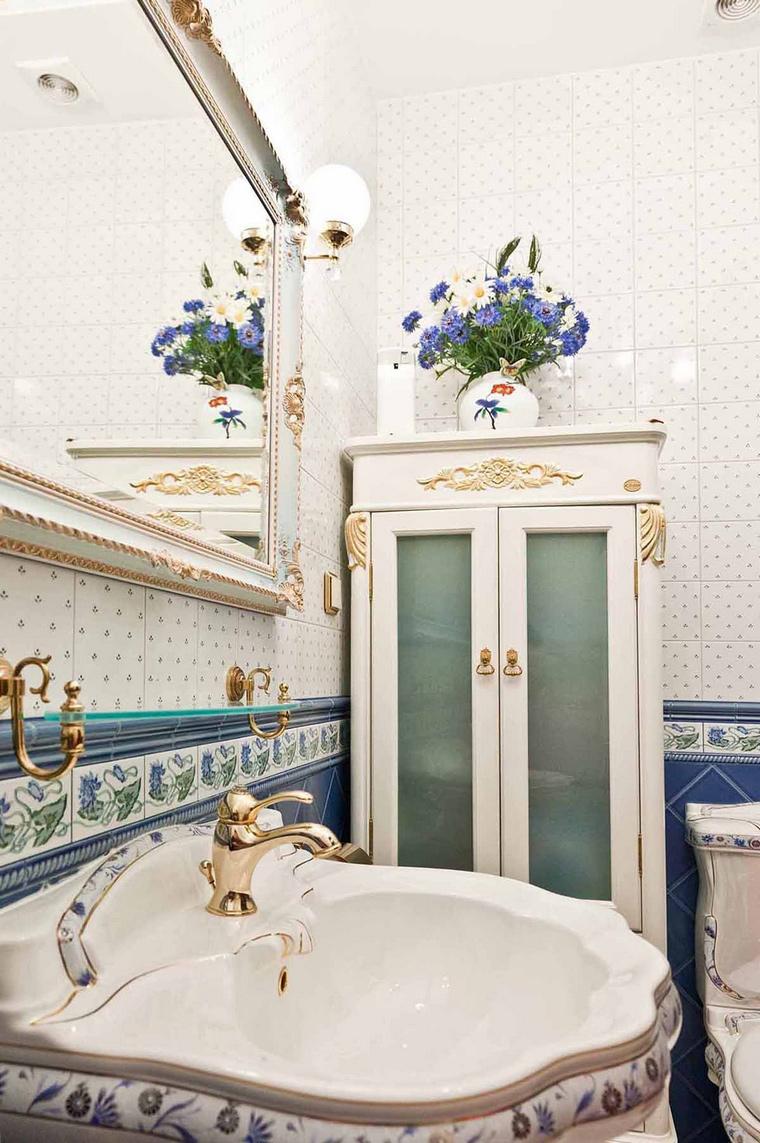 Квартира. ванная из проекта , фото №69226