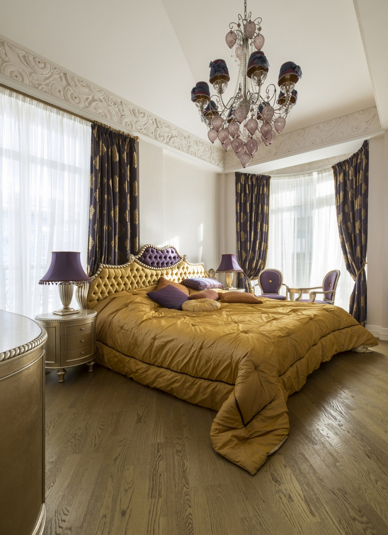 Фото № 69425 спальня  Квартира