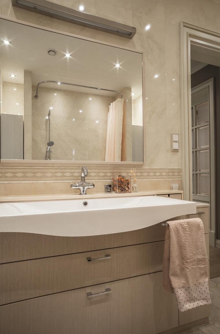 Квартира. ванная из проекта , фото №69502