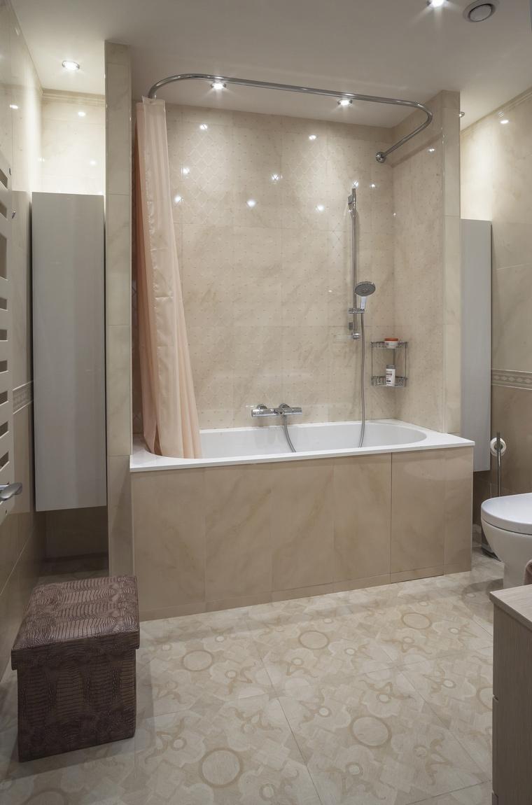 Квартира. ванная из проекта , фото №69503
