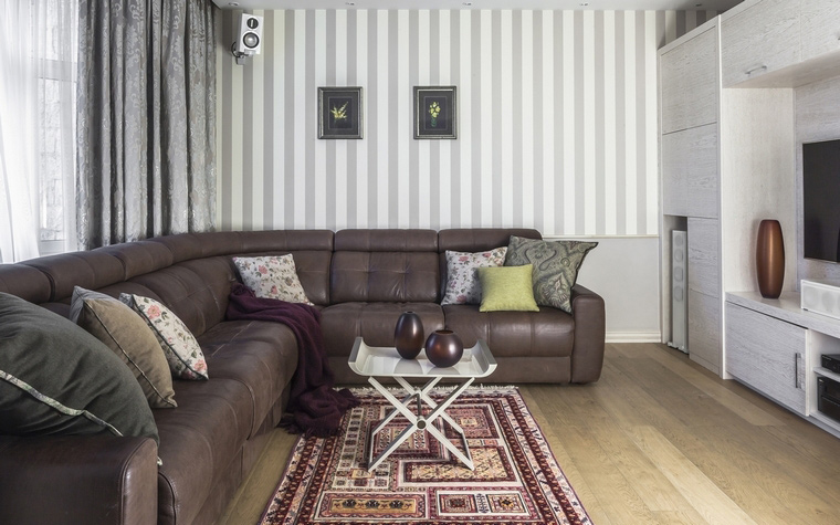 Квартира. гостиная из проекта , фото №69494