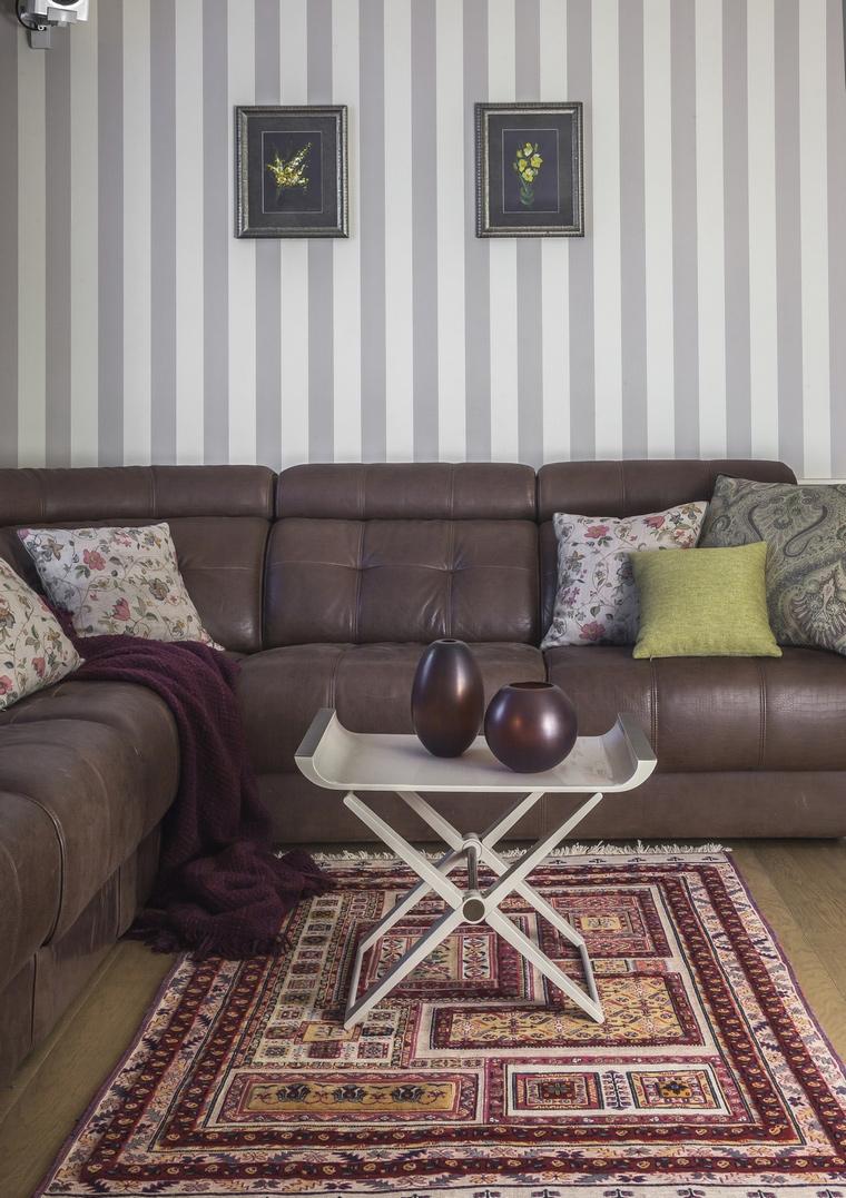 Квартира. гостиная из проекта , фото №69495
