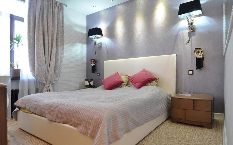 Квартира. спальня из проекта , фото №69522