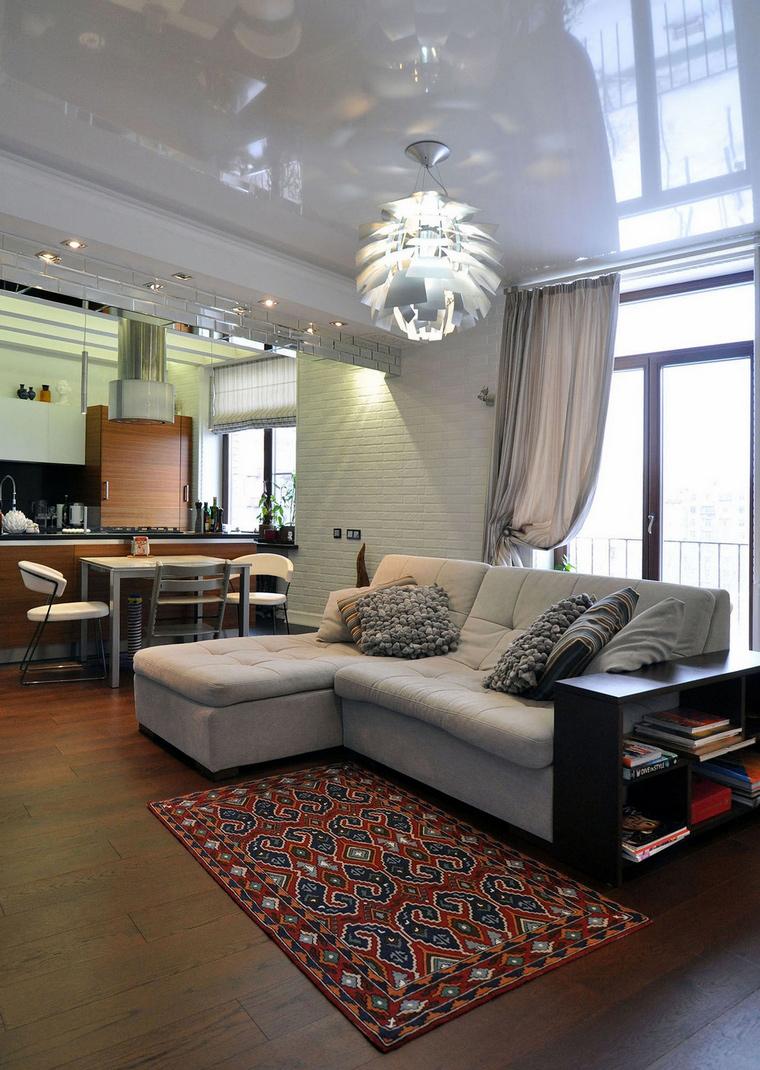 Квартира. гостиная из проекта , фото №69518