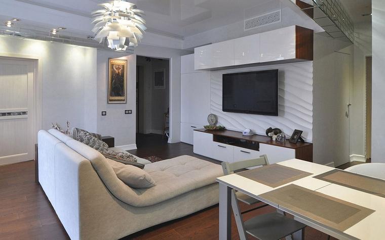Квартира. гостиная из проекта , фото №69519