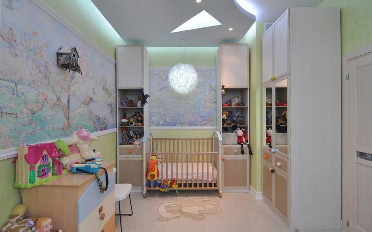 Квартира. детская из проекта , фото №69524