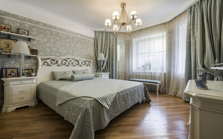 Фото № 69589 спальня  Квартира