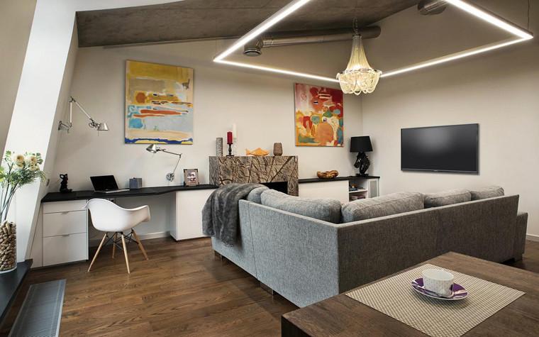 интерьер гостиной - фото № 69607