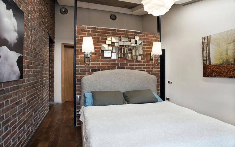 Квартира. спальня из проекта , фото №69613