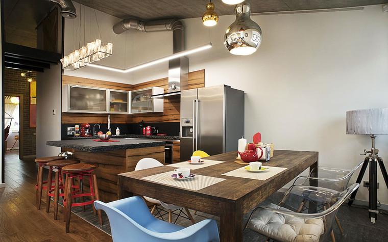 Квартира. кухня из проекта , фото №69611