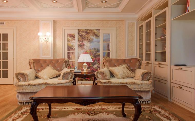 интерьер гостиной - фото № 69638