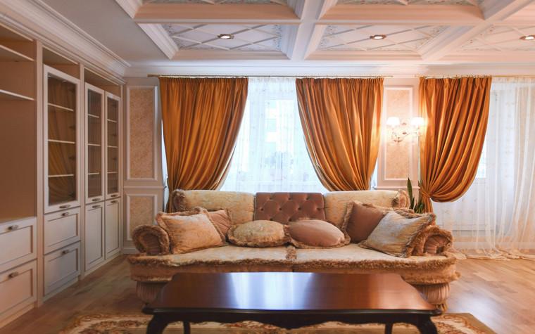 интерьер гостиной - фото № 69640