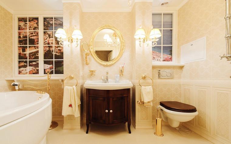 Квартира. ванная из проекта , фото №69645