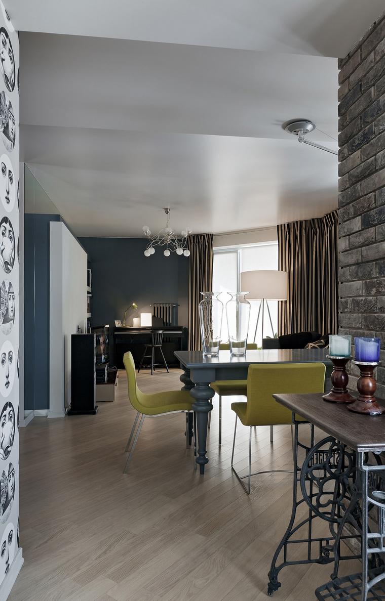 Квартира. столовая из проекта , фото №69646
