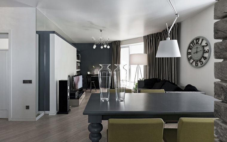 Квартира. столовая из проекта , фото №69647