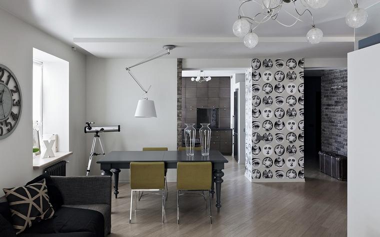Квартира. столовая из проекта , фото №69648