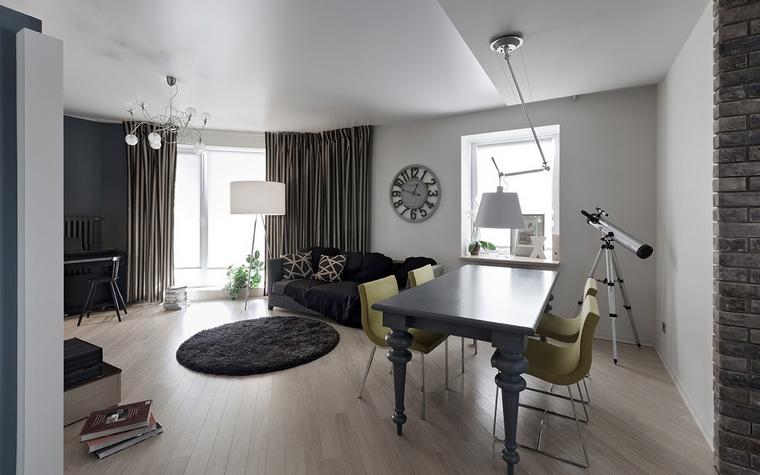 Квартира. столовая из проекта , фото №69649
