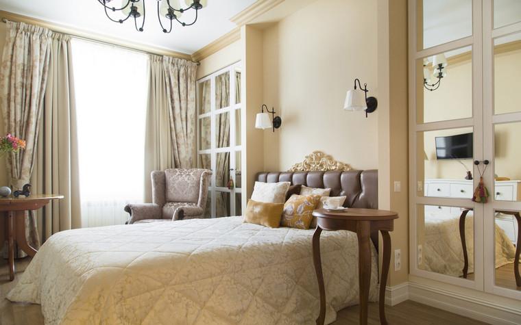 Квартира. спальня из проекта , фото №69673