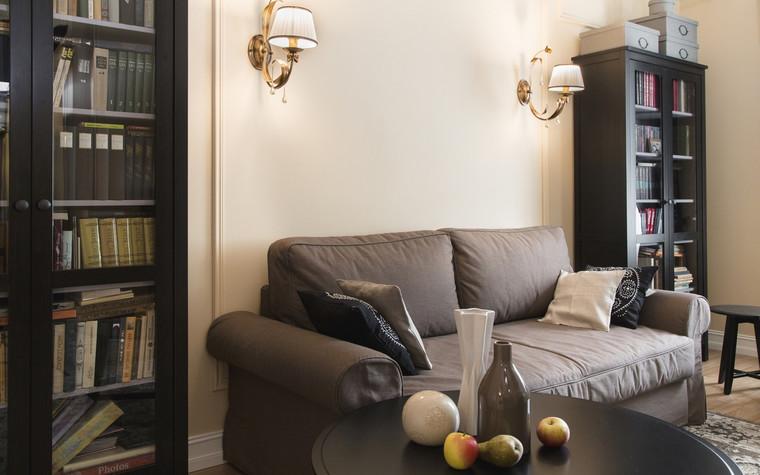 Квартира. гостиная из проекта , фото №69656