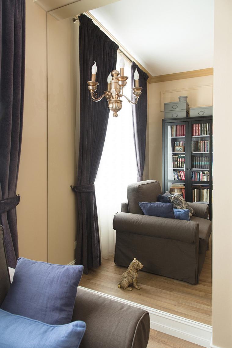 Квартира. гостиная из проекта , фото №69657