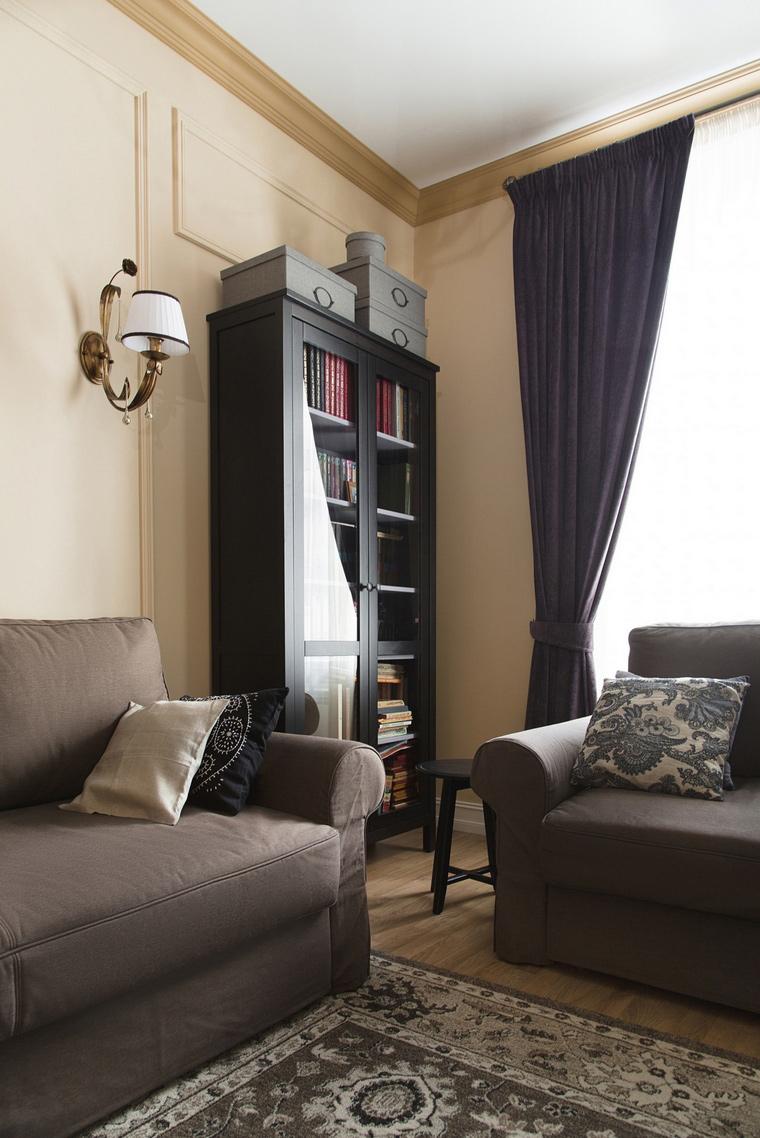 Квартира. гостиная из проекта , фото №69659