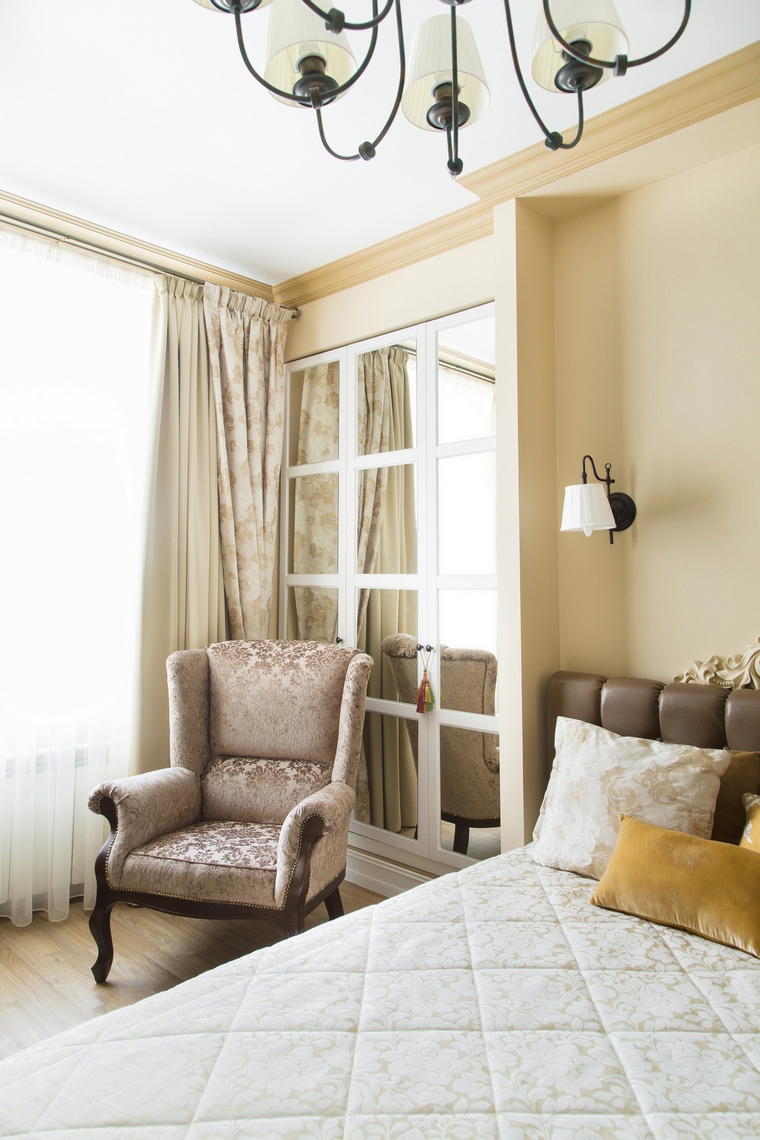 Квартира. спальня из проекта , фото №69675